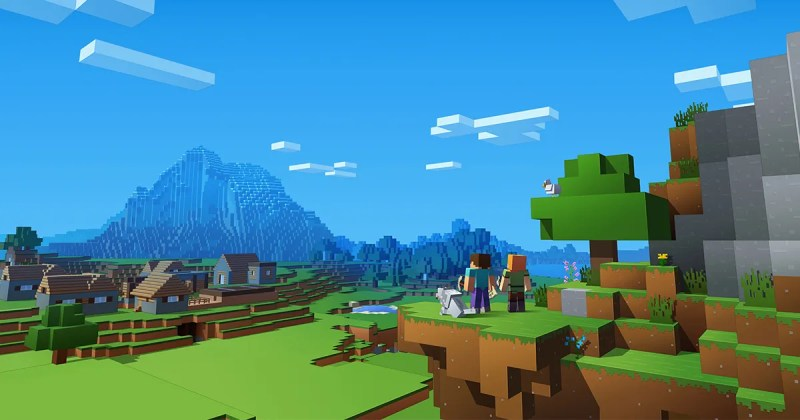 Best Selling Video Game-3D Minecraft in Virtual Reality Videos