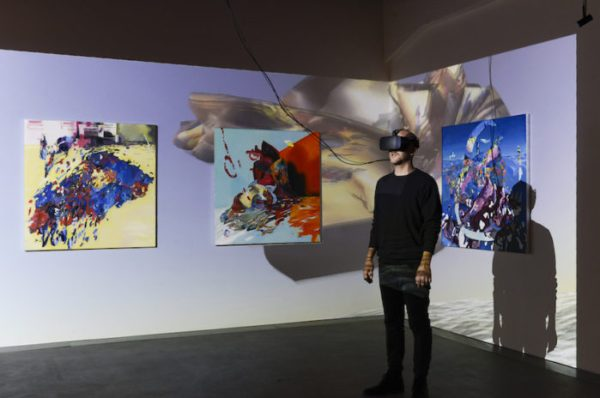 virtual reality of gallery