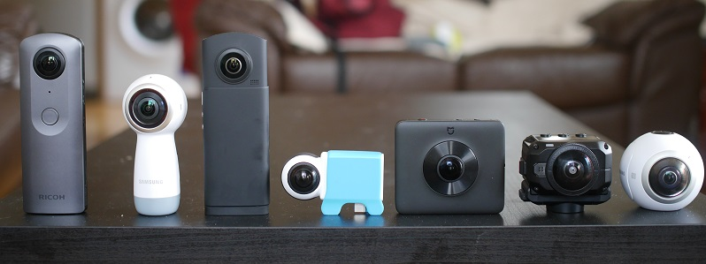 The 360 Guy's 360 camera collection