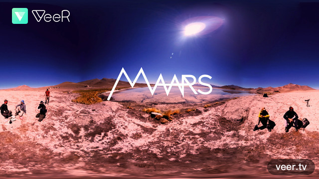 Travel to Mars through Virtual Reality Experience