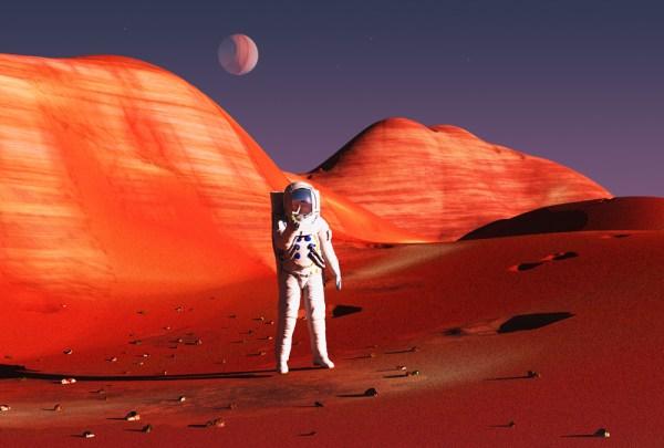 NASA vr in Mars