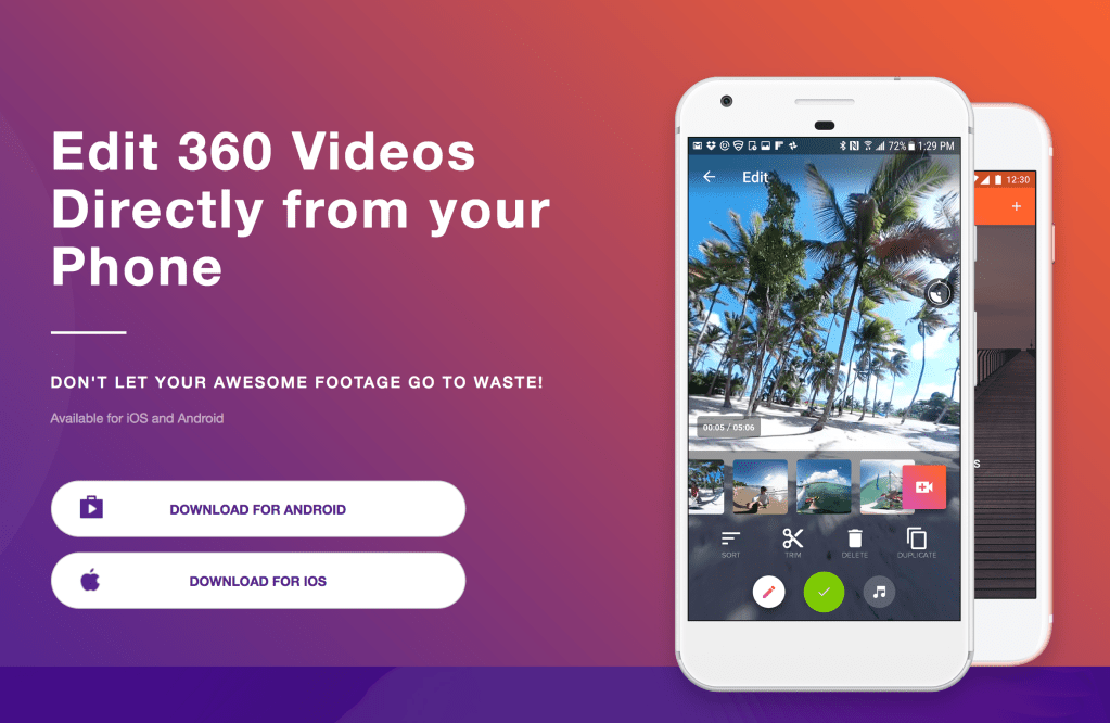 Top 10 vr editing apps for your phone and pc veer vr blog v360 is a leader in 360 video mobile editing it packs the following features that enable you to edit multiple clips where you can trim rearrange ccuart Choice Image