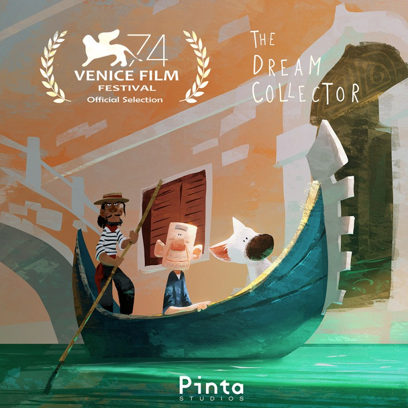 "Pinta Studios' Debuts VR Animation Film ""The Dream Collector"" At The Venice Film Festival"