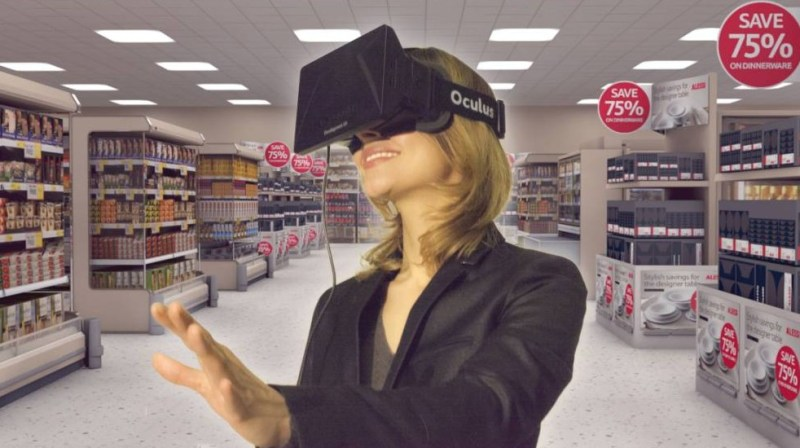 VR Application-Virtual Reality Shopping Experience