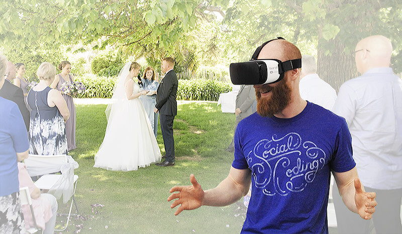 Different 360 Experience in VR Wedding Ceremony