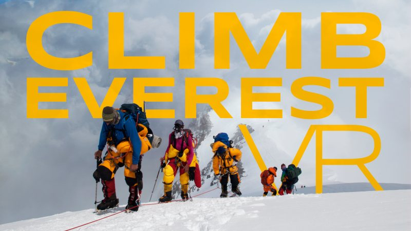 Climb Everest VR: No Mountain Too High for Virtual Reality