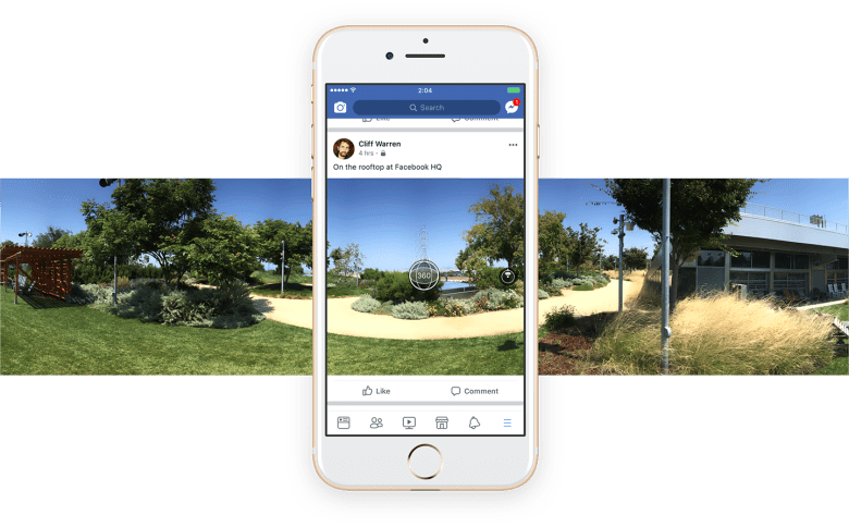facebook 360 to shoot 360 photos