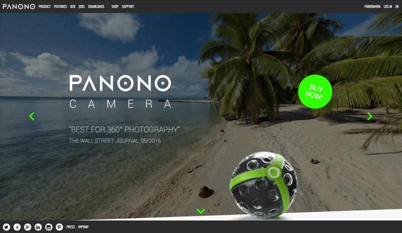 Panono: A $1799 Tossable Panoramic Camera