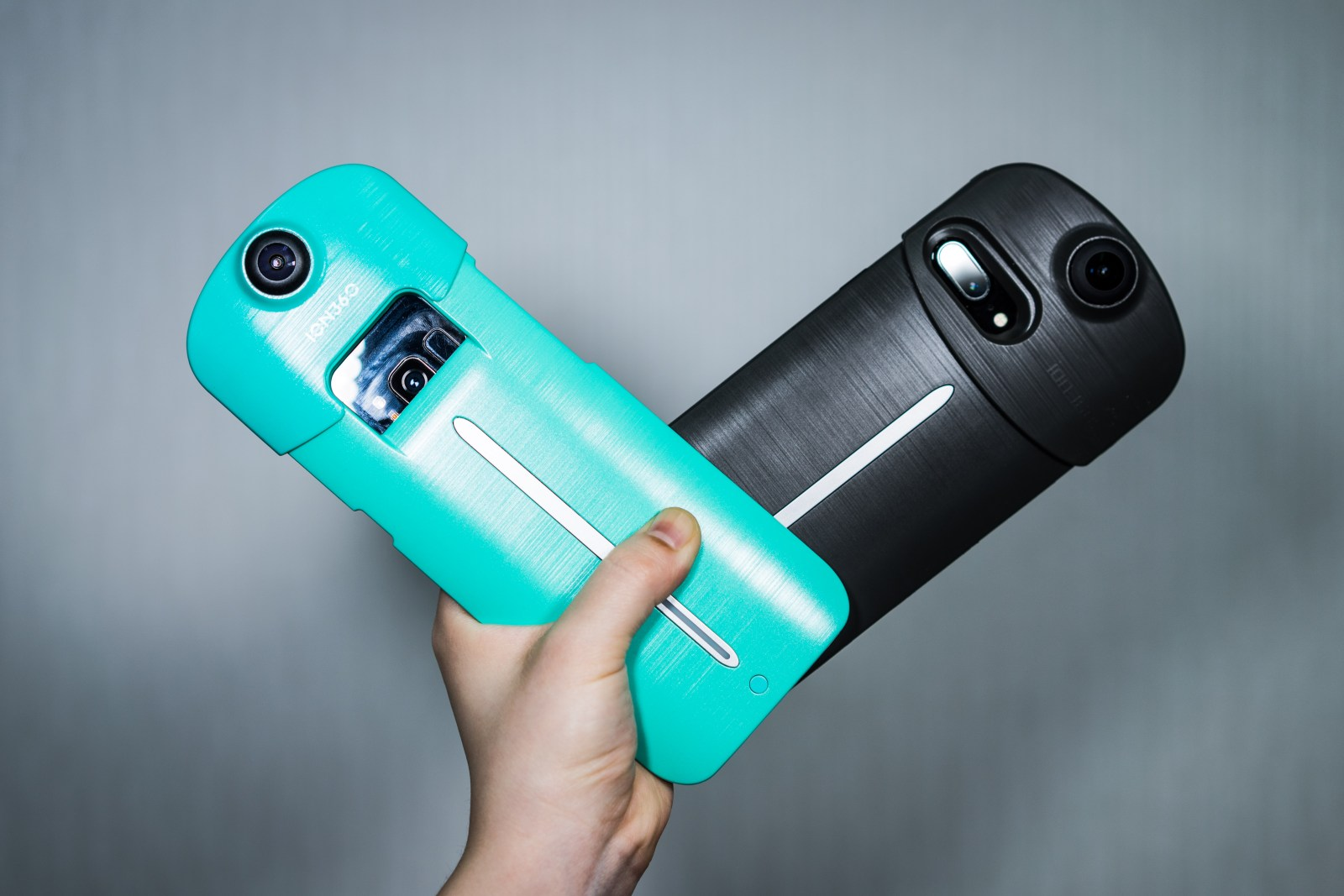 ION 360 – A Phone Case, Battery and 360 Camera All in One