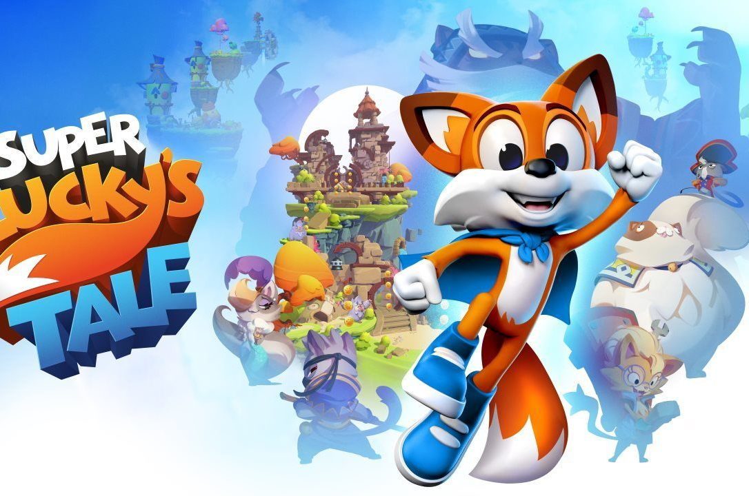 best vr games-super luckys tale