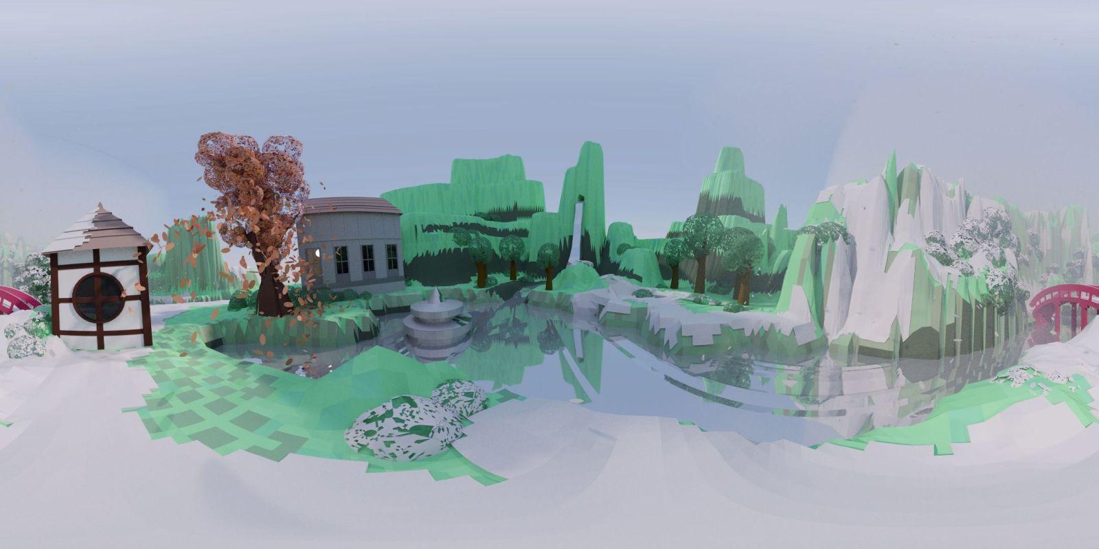 Blender Tutorial: How to Render a 3D VR Video from Blender