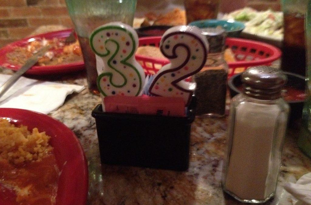 32 things before i turn 32