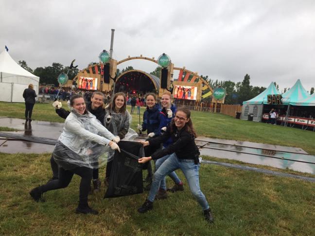 Afvalverwerking op festivals is zelfs leuk!