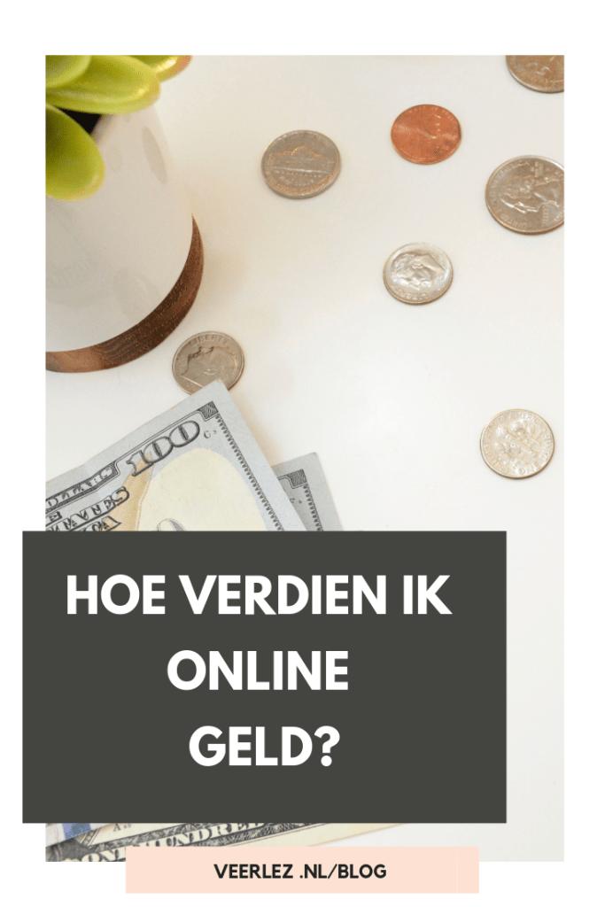 Hoe verdien ik online geld?