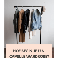 Begin een capsule wardrobe