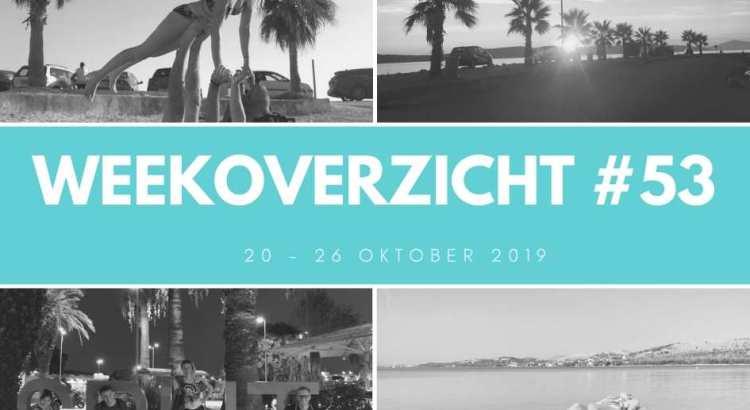 Weekoverzicht 53: Elke dag naar het strand