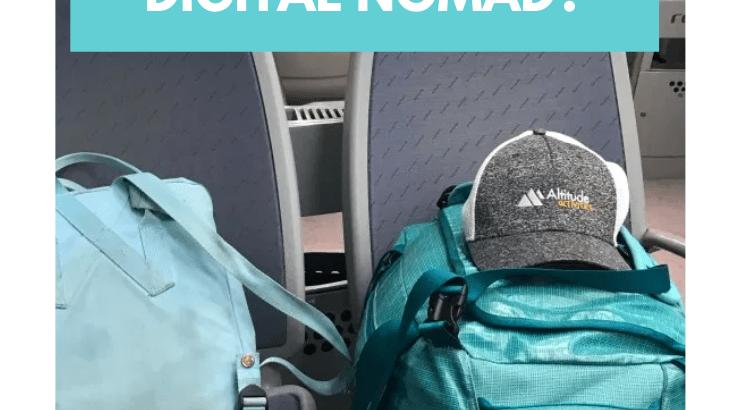 Welke spullen heb je echt nodig als digital nomad?
