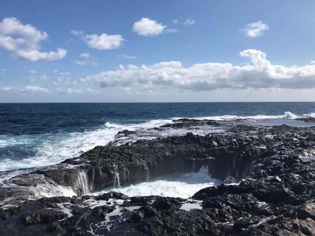Blowhole op Gran Canaria