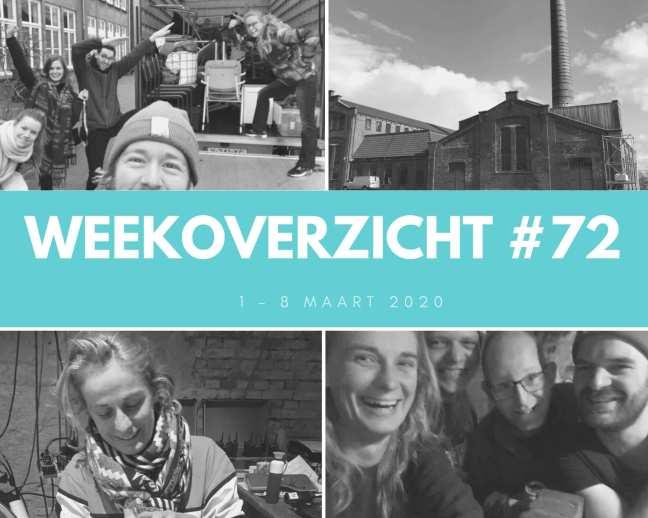 Weekoverzicht #72: werken op een festival
