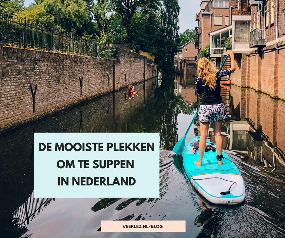 Nederland is een fantastisch land om te verkennen vanaf het water. Hier lees je de mooiste plekken om te suppen in Nederland.
