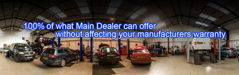 100% of what Main Dealer can offer