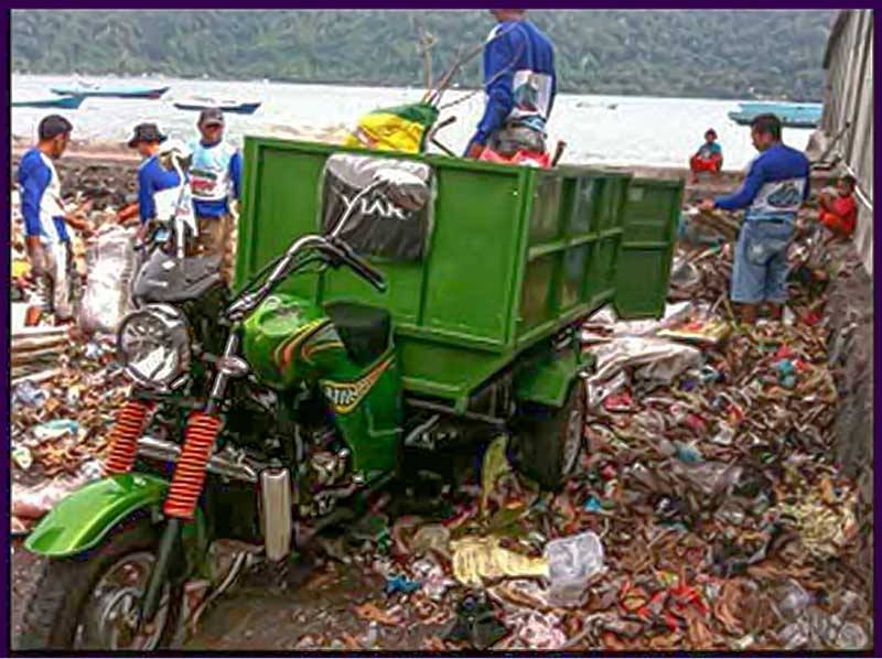 Supporting waste managment in the Banda islands
