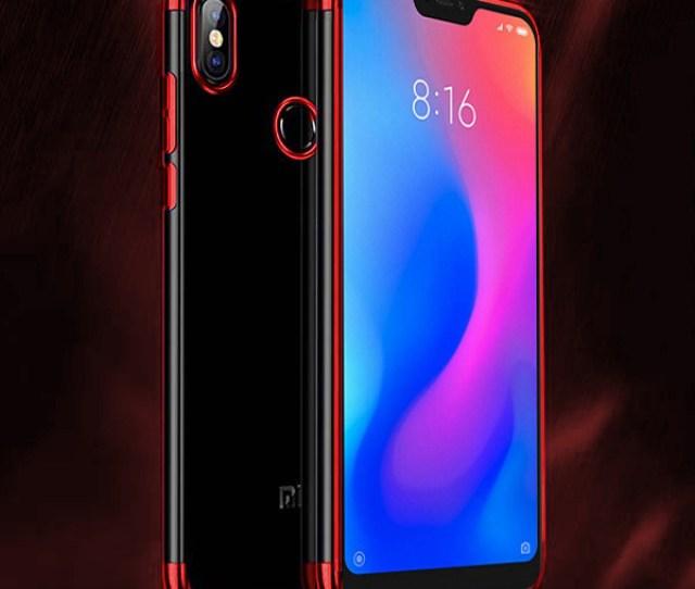 Fall Decken Case Ambit Xiaomi Mia Lite Mi A Lite Rot Glas H