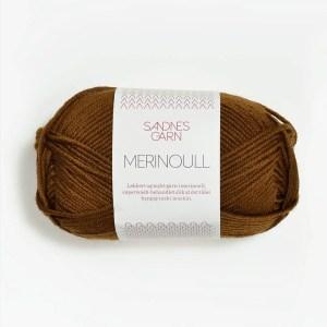 Sandnes Merinoull 2564 - Gyldenbrun