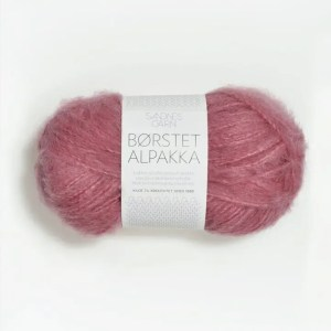 Sandnes Børstet Alpakka 4324 - Varm Rosa