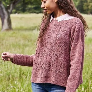 Oversize Sweater i Zenta by Permin
