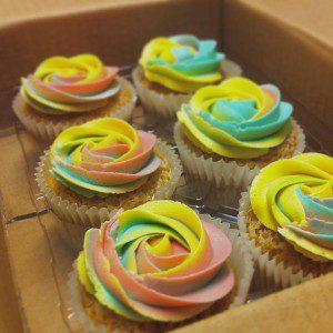 Vegan Rainbow Cupcakes rainbow cupcakes Rainbow Cupcakes 11046780 381013518767155 868797340651118329 n