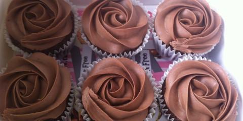 Choco-Banana Cupcakes