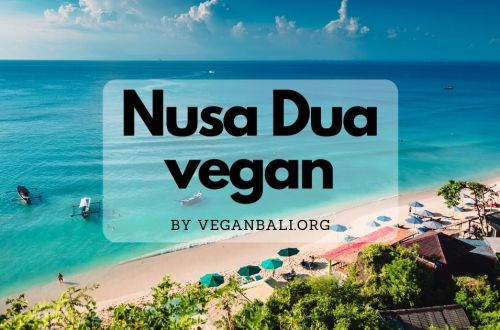 vegan restaurants in nusa dua