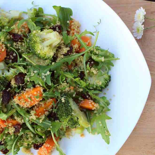 Quinoa salade wortel