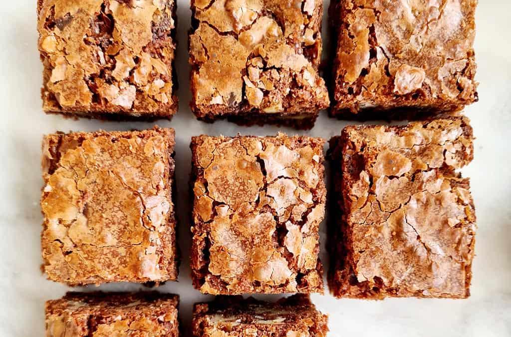 Brownies vegan en glutenvrij