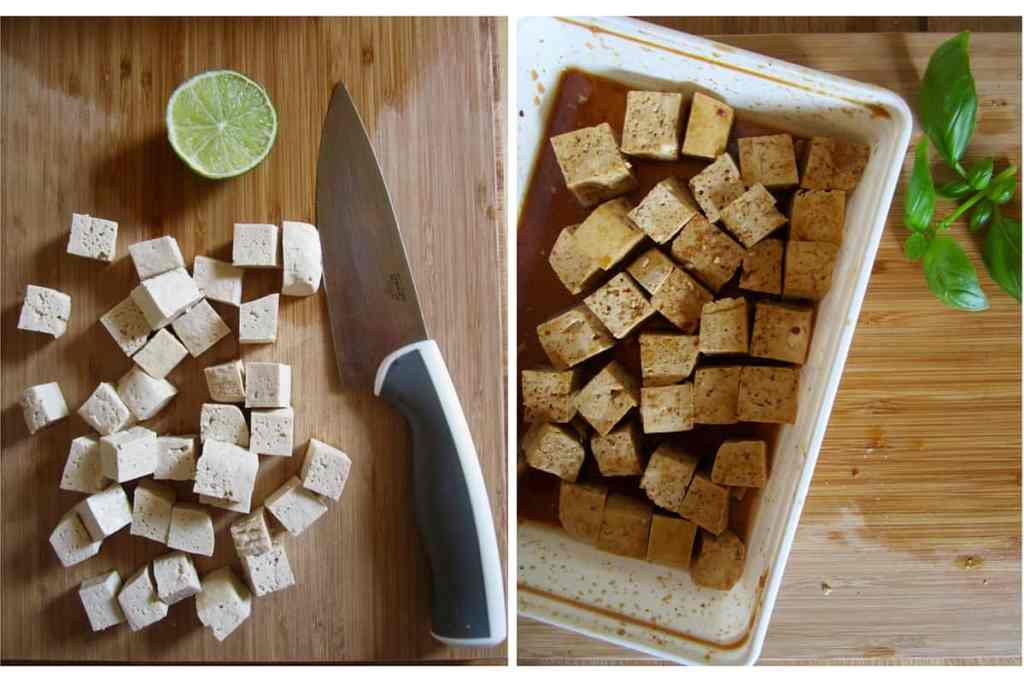 Asian Baked Garlic Tofu - easy, versatile and mess free! | veganchickpea.com