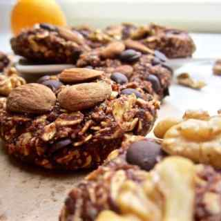 ealthy High Protein Chocolate Orange Oatmeal Cookies - no bake + refined sugar free + gluten free + vegan! | veganchickpea.com