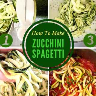 How to Make Zucchini & Squash Spaghetti