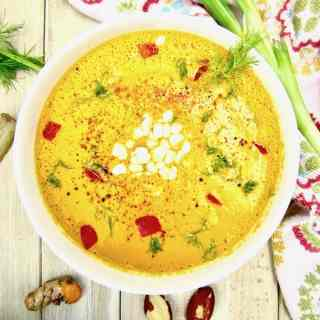 Raw Creamy Carrot & Brazil Nut Soup + Vegan Fusion Teacher Training