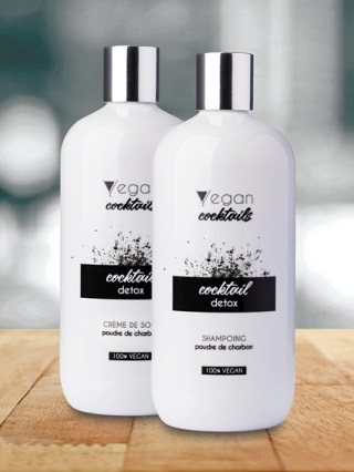 shampoing vegan cocktail detox