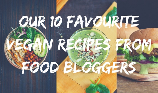 10 Food Blogger Recipes Title