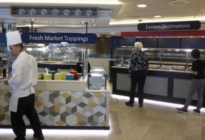World Fresh Marketplace Caribbean Princess serving lines