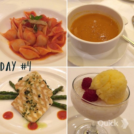 Royal Princess Cruises vegan food dining