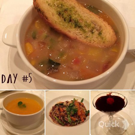 Royal Princess Cruises vegan dining day 5
