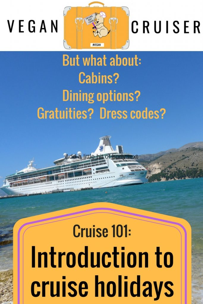 Introduction to cruise holidays vegan