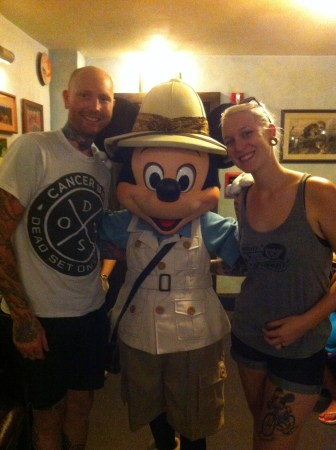 Character Lunch at Tusker House