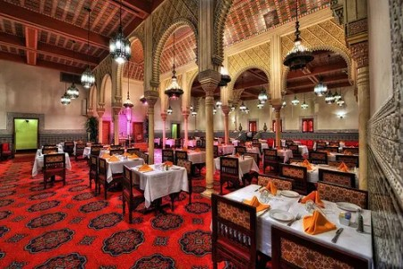 Restaurant Marrakesh interior