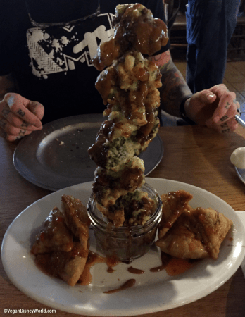 Tempura Broccoli Tower