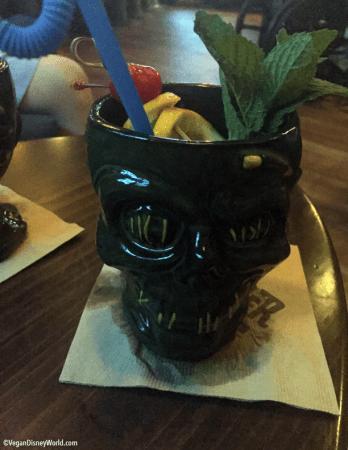 Shrunken Zombie Head