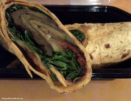 Veggie Wrap Close Up